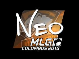 Sticker | NEO (Foil) | MLG Columbus 2016