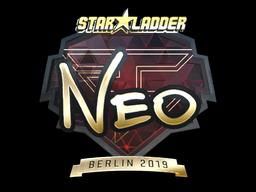 Sticker | NEO (Gold) | Berlin 2019