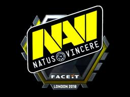 Sticker | Natus Vincere (Foil) | London 2018