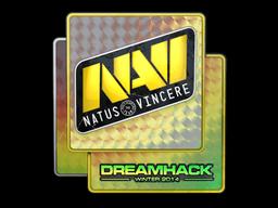 Sticker | Natus Vincere (Holo) | DreamHack 2014