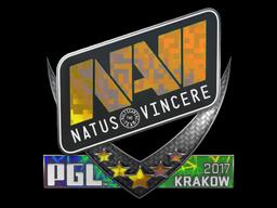 Sticker | Natus Vincere (Holo) | Krakow 2017