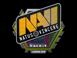 Sticker | Natus Vincere (Holo) | London 2018