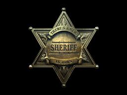 Sticker   New Sheriff (Foil)
