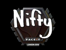 Sticker | Nifty | London 2018