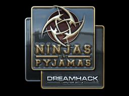 Sticker | Ninjas in Pyjamas (Foil) | DreamHack 2014