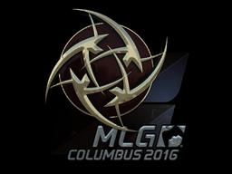 Sticker | Ninjas in Pyjamas (Foil) | MLG Columbus 2016