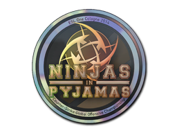 Sticker | Ninjas in Pyjamas (Holo) | Cologne 2014