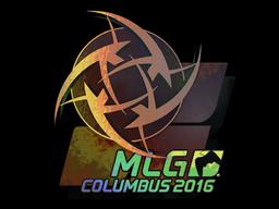 Sticker | Ninjas in Pyjamas (Holo) | MLG Columbus 2016