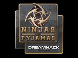 Sticker | Ninjas in Pyjamas | DreamHack 2014