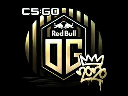 Sticker | OG (Gold) | 2020 RMR