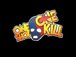 Sticker | One Shot One Kill