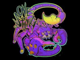 Sticker   One Sting (Holo)