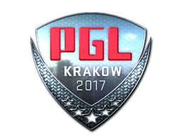 Sticker | PGL (Foil) | Krakow 2017