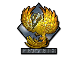 Sticker   Phoenix (Foil)