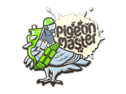 Sticker   Pigeon Master