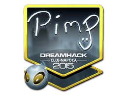 Sticker | Pimp (Foil) | Cluj-Napoca 2015