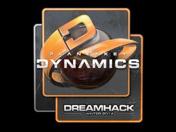 Sticker   Planetkey Dynamics   DreamHack 2014