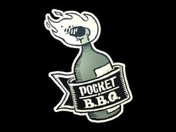 Sticker | Pocket BBQ