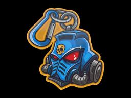 Sticker   Primaris Keychain