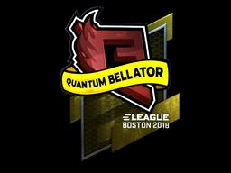 Sticker | Quantum Bellator Fire (Foil) | Boston 2018