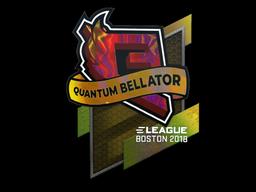 Sticker | Quantum Bellator Fire (Holo) | Boston 2018