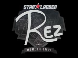 Sticker | REZ | Berlin 2019