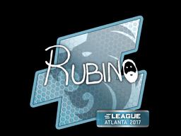 Sticker   RUBINO   Atlanta 2017