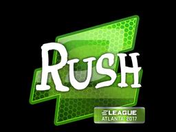 Sticker   RUSH   Atlanta 2017