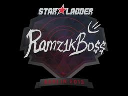 Sticker | Ramz1kBO$$ | Berlin 2019