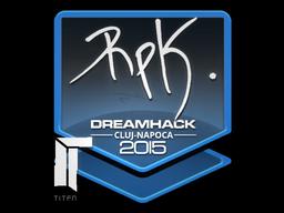 Sticker | RpK | Cluj-Napoca 2015