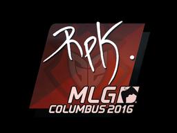 Sticker | RpK | MLG Columbus 2016