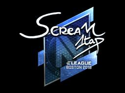 Sticker | ScreaM (Foil) | Boston 2018