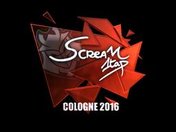 Sticker | ScreaM (Foil) | Cologne 2016
