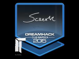 Sticker   ScreaM   Cluj-Napoca 2015