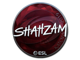 Sticker   ShahZaM (Foil)   Katowice 2019