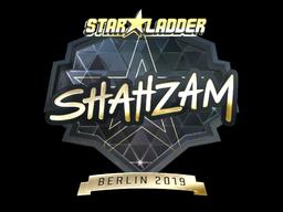 Sticker | ShahZaM (Gold) | Berlin 2019