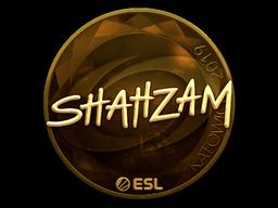 Sticker   ShahZaM (Gold)   Katowice 2019