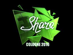 Sticker   Shara (Foil)   Cologne 2016