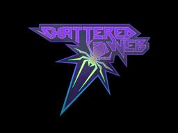 Sticker | Shattered Web