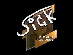 Sticker   SicK   Boston 2018