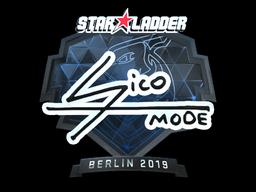 Sticker   Sico (Foil)   Berlin 2019