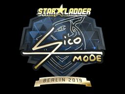 Sticker   Sico (Gold)   Berlin 2019