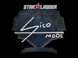 Sticker   Sico   Berlin 2019