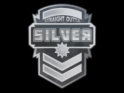 Sticker   Silver