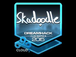 Sticker   Skadoodle (Foil)   Cluj-Napoca 2015