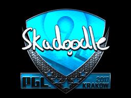 Sticker   Skadoodle (Foil)   Krakow 2017