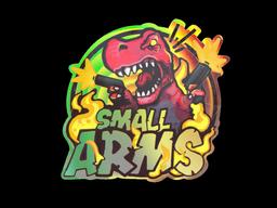 Sticker   Small Arms (Holo)