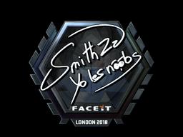 Sticker   SmithZz (Foil)   London 2018