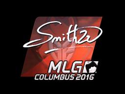 Sticker | SmithZz (Foil) | MLG Columbus 2016