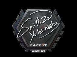Sticker   SmithZz   London 2018